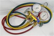 YELLOW JACKET Measuring Tool TEST AND CHARGING  MANIFOLD
